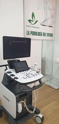 ecografia del pie para diagnostico de fascitis plantar
