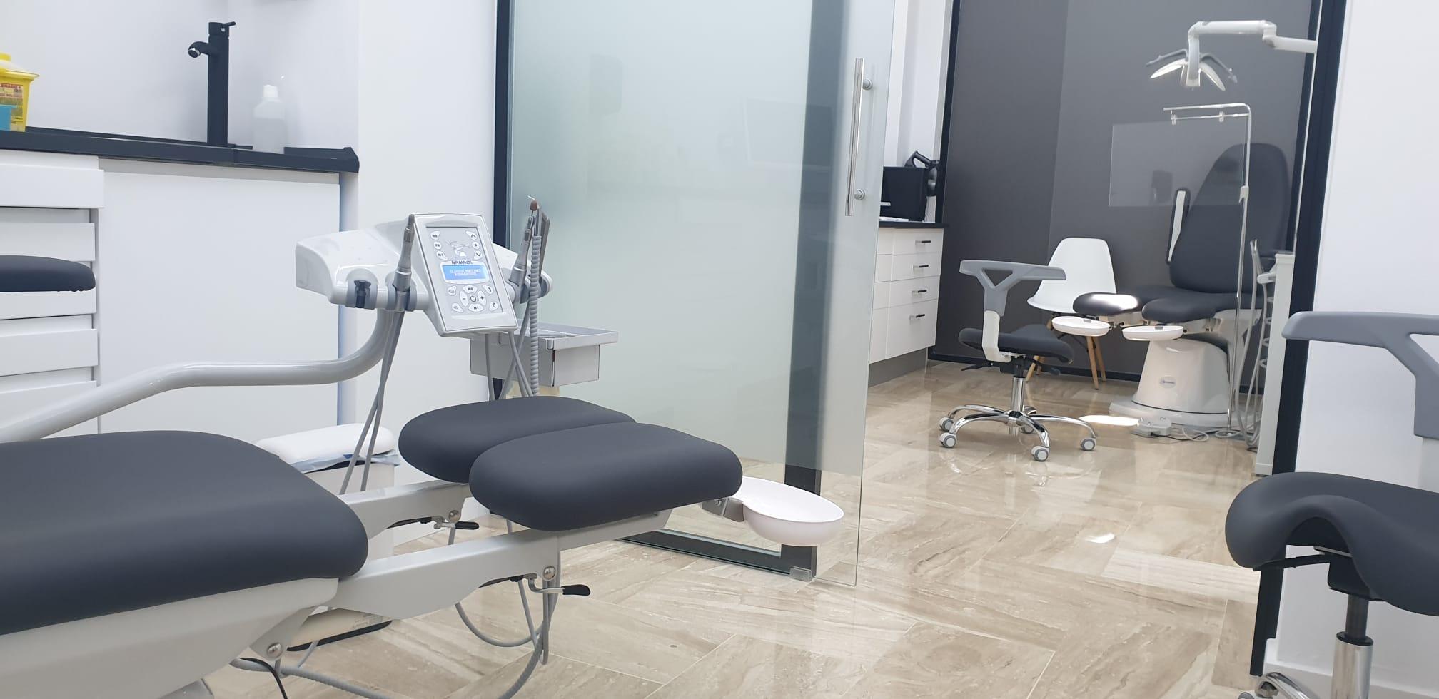 Salas de tratamiento de Clínica de Podología en Elche